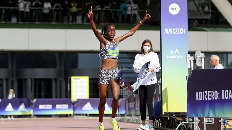 Kenyan athlete Agnes Tirop