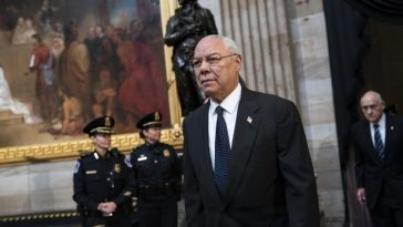 The first African-American US secretary of state Colin Powell dies
